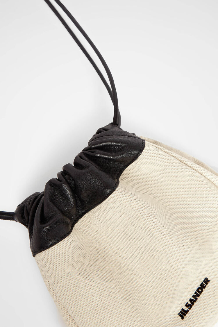 Drawstring Crossbody, natural, large