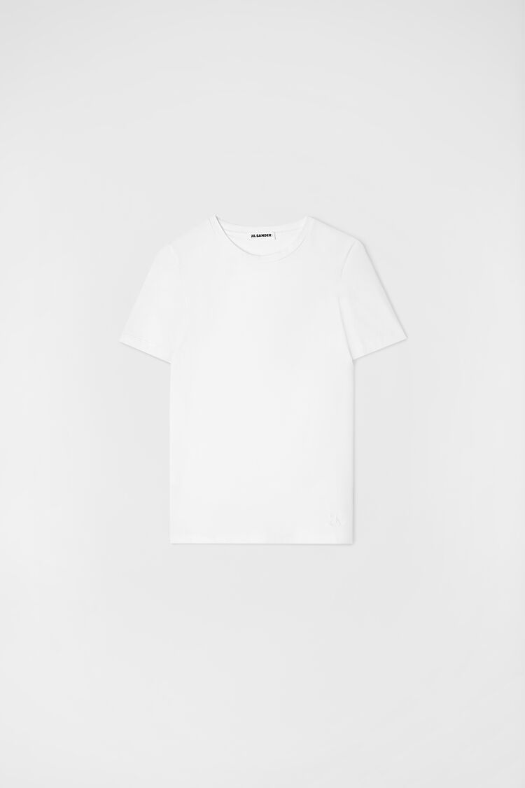 T-Shirt, white, large