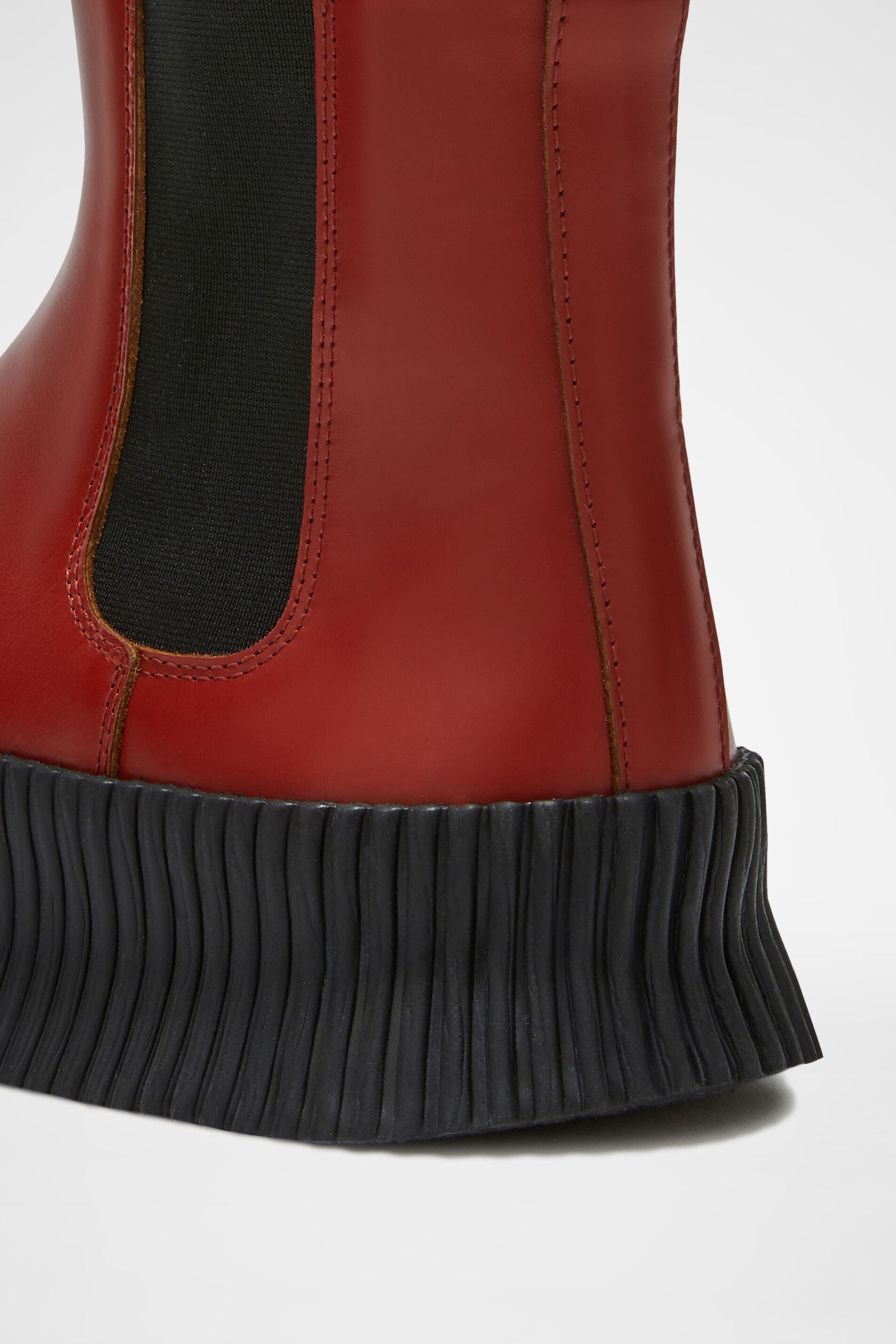 Boots, red, large