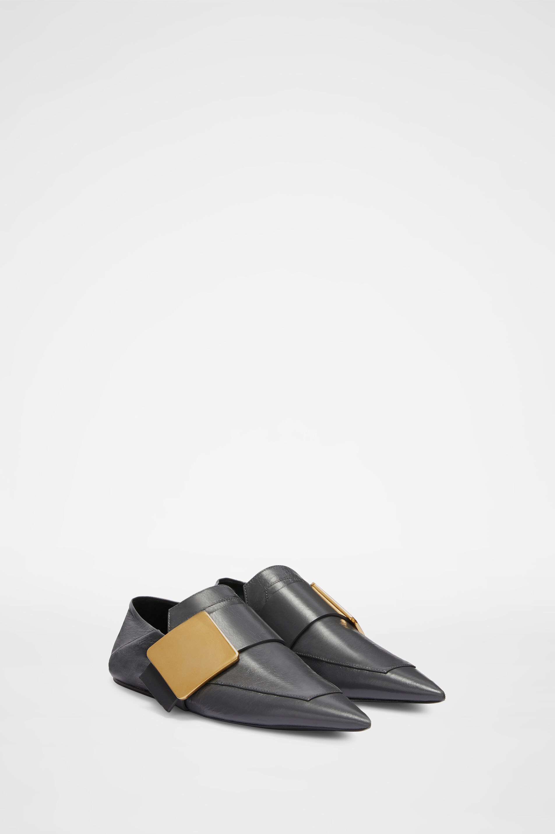 Loafers, grey, large