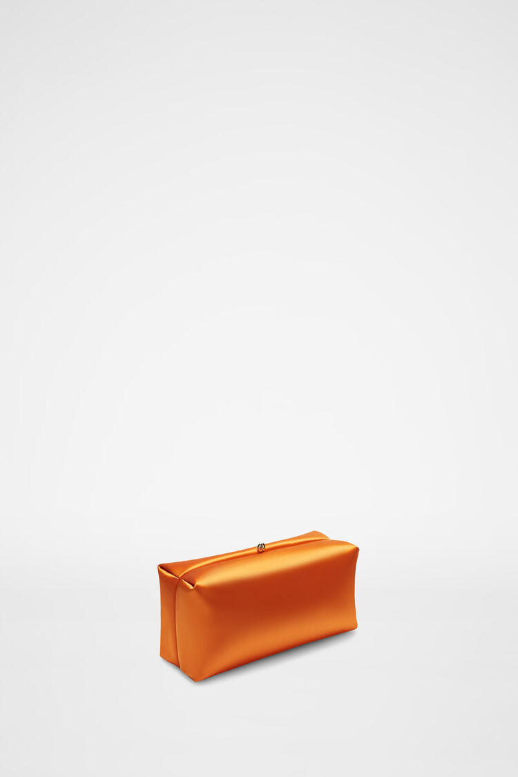 Goji Clutch, pastel orange, large
