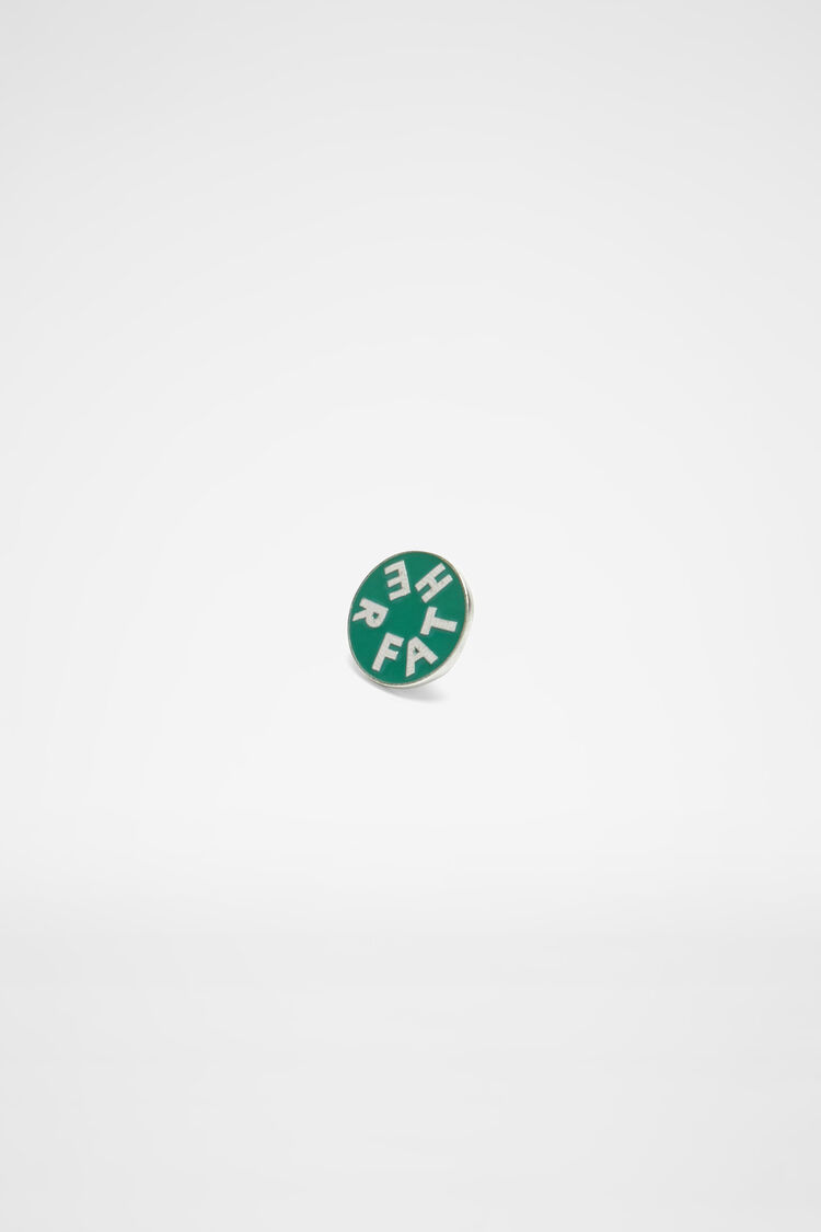 Pin Father, green, large