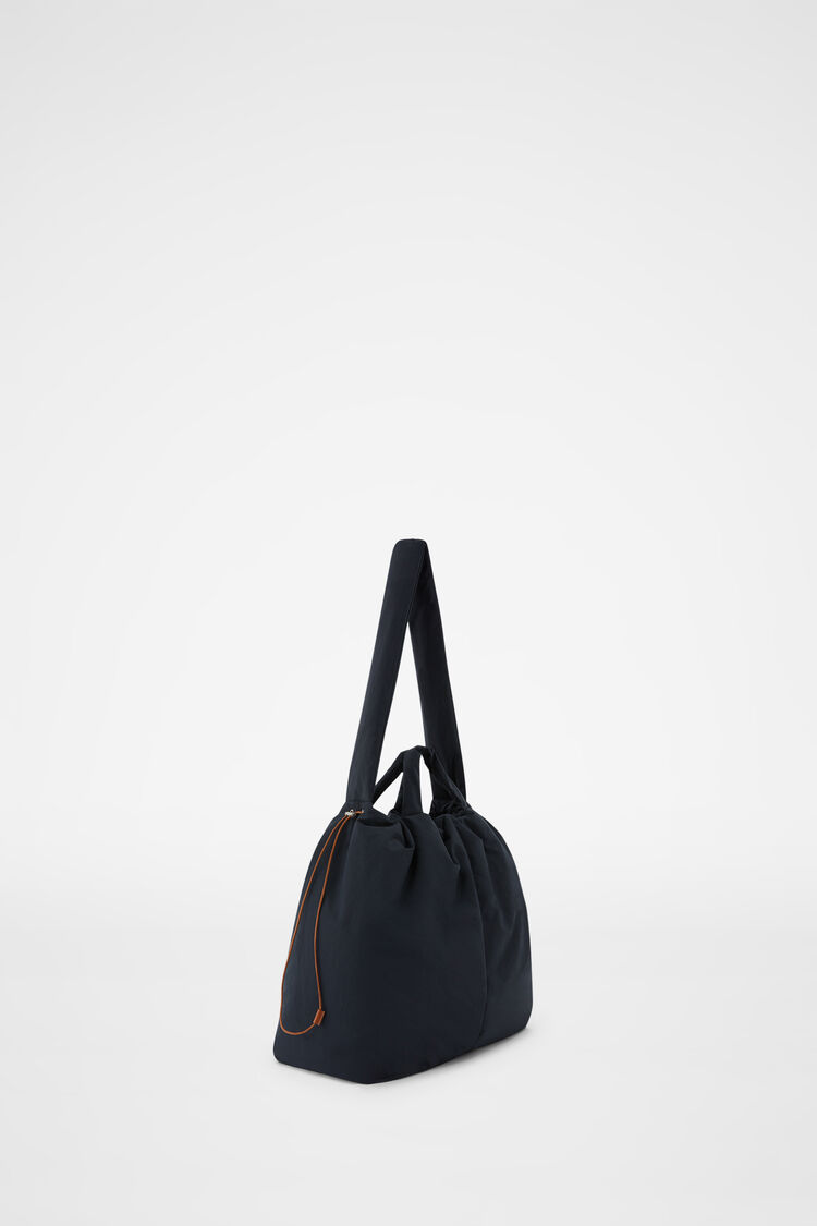 Tote, dark blue, large