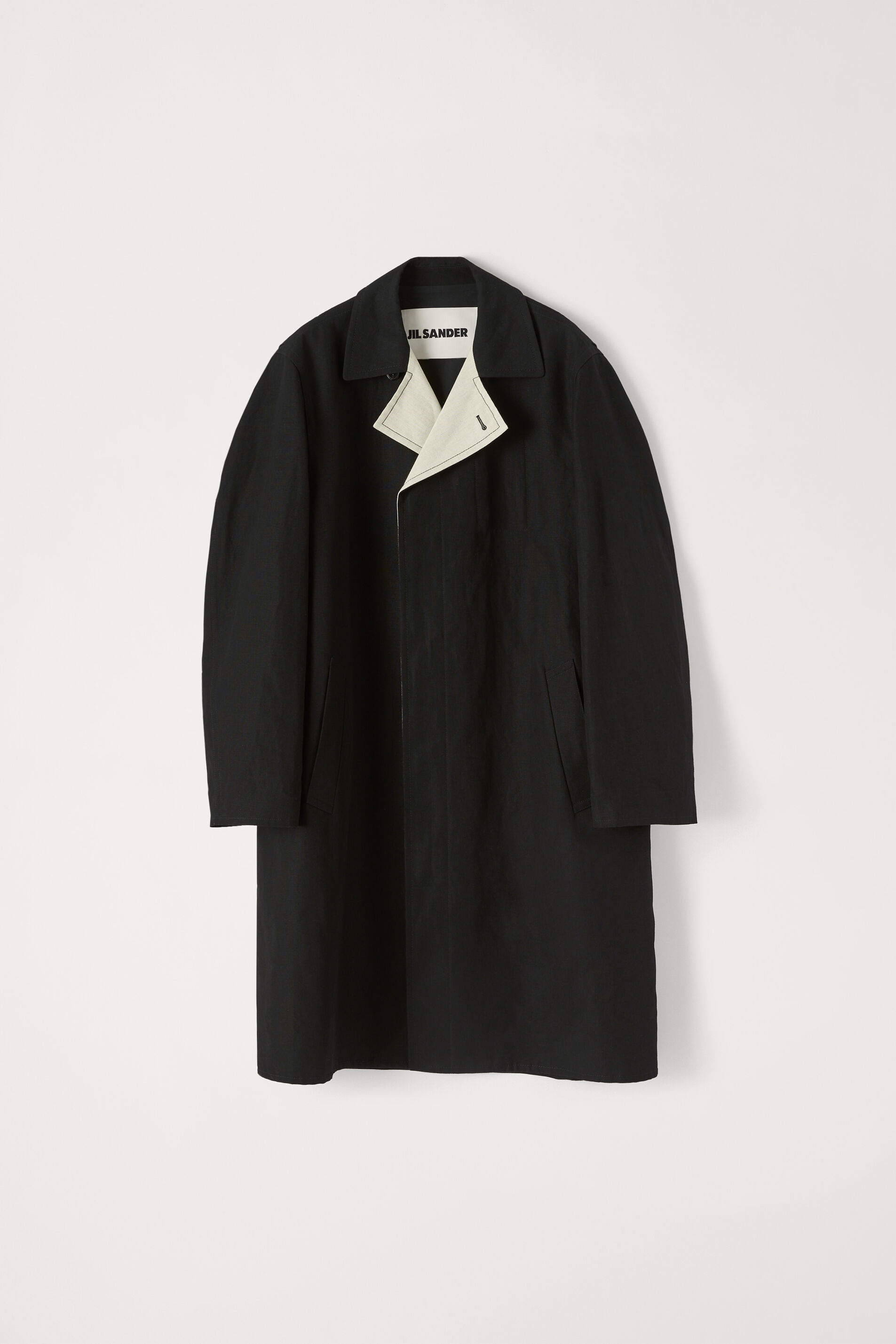 Coat, black, large