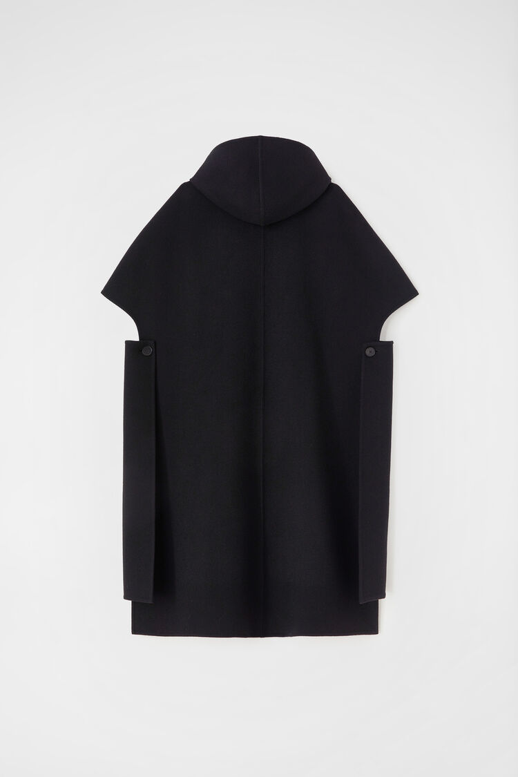 Cape, black, large