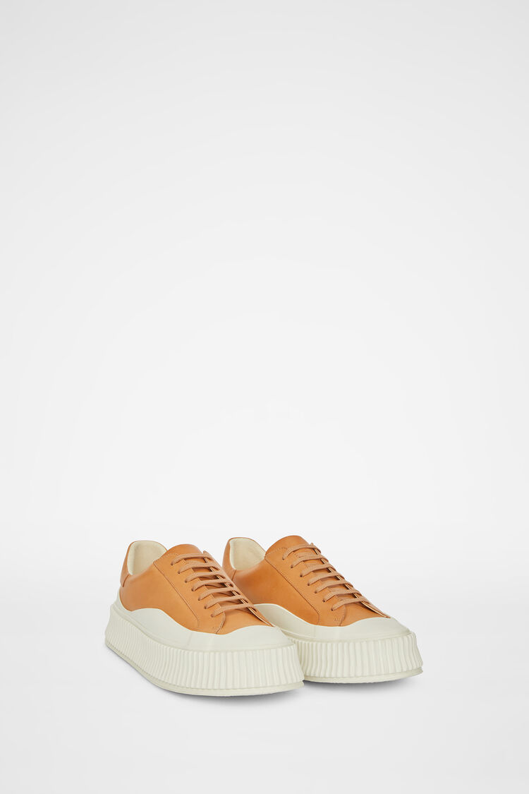 Sneakers, brown, large