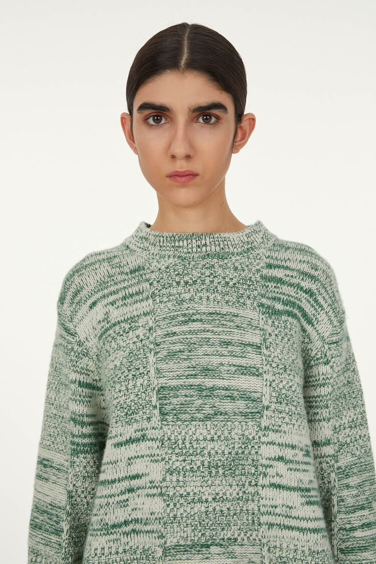 Sweater, green, large