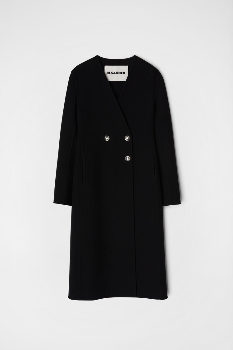 Cappotto, nero, large