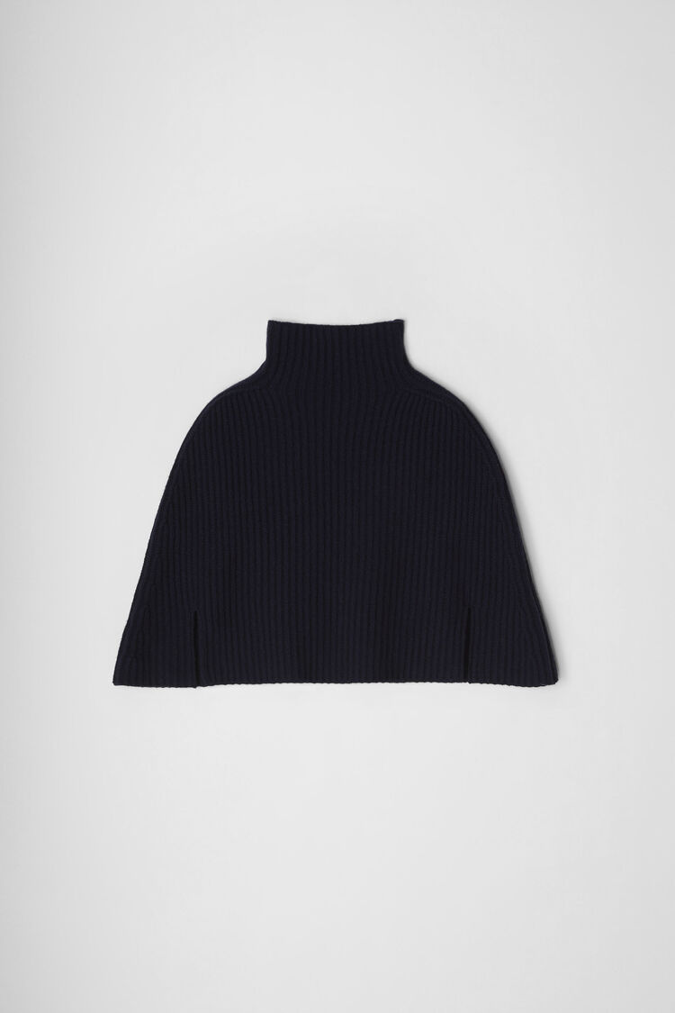 Cape, dark blue, large