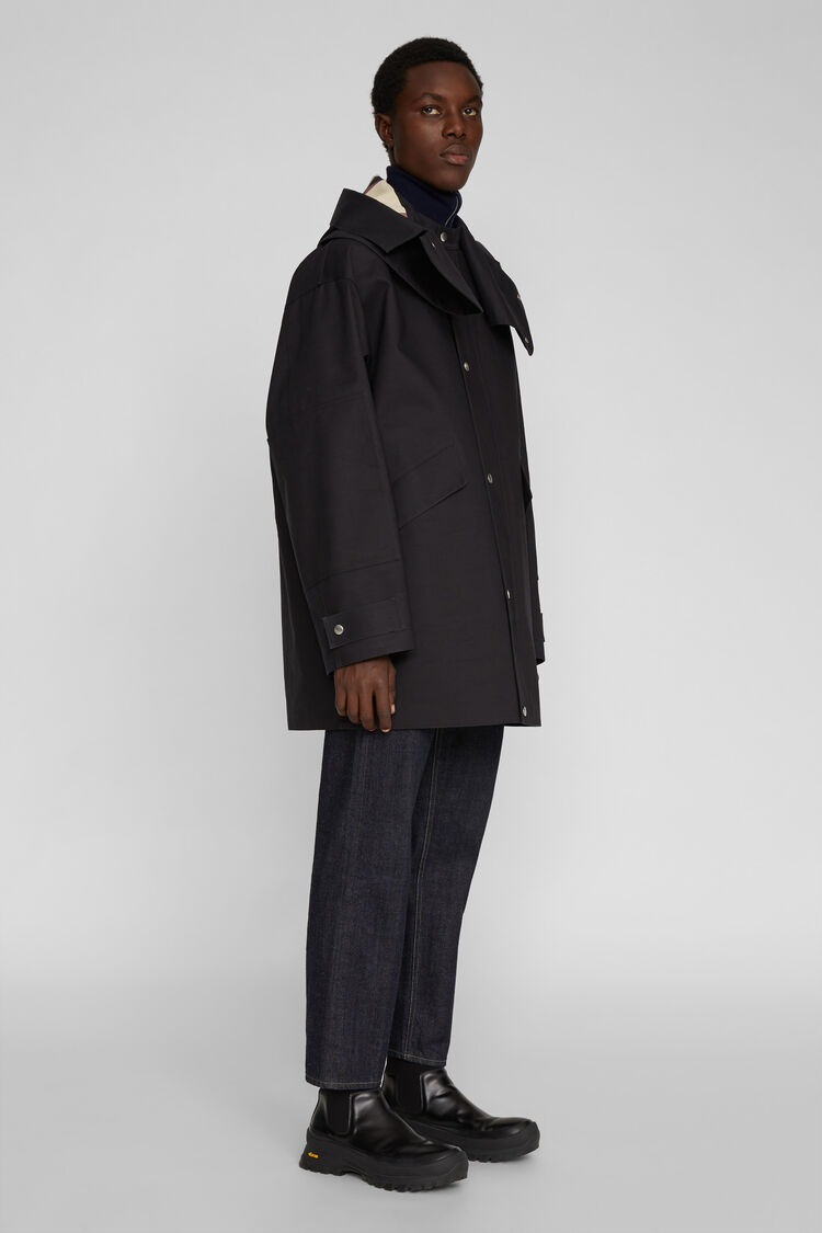 Mackintosh Parka, black, large
