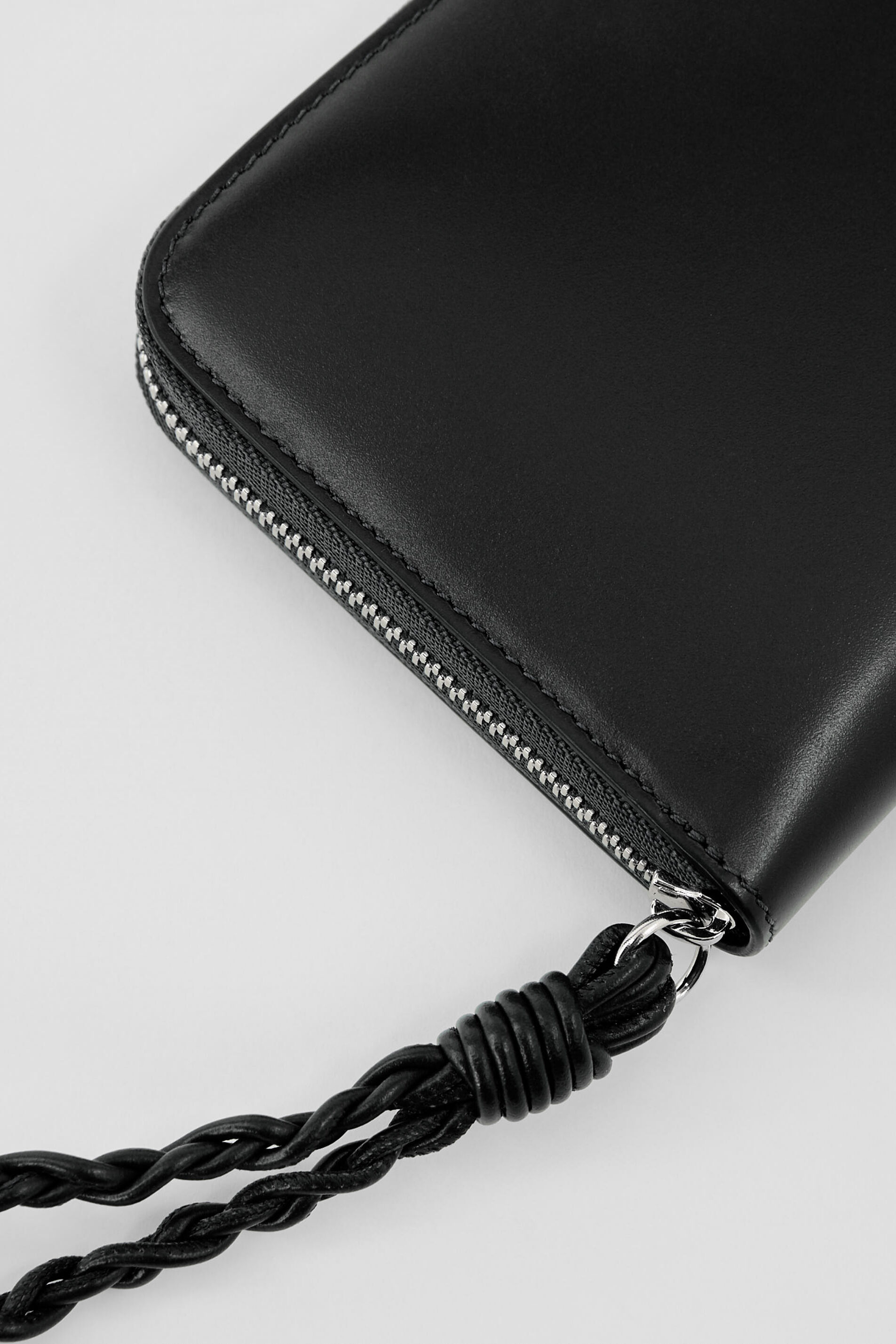 Zip Around Wallet, black, large