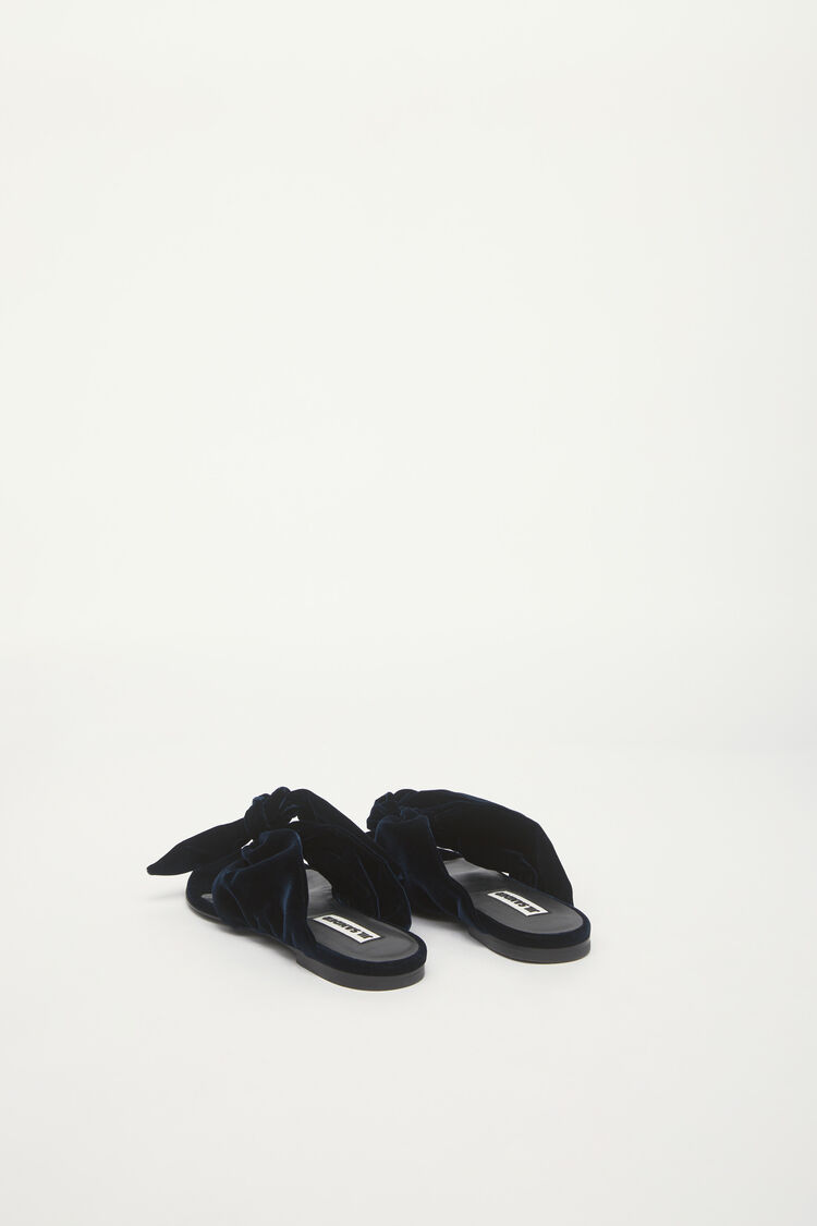 Sandals, dark blue, large
