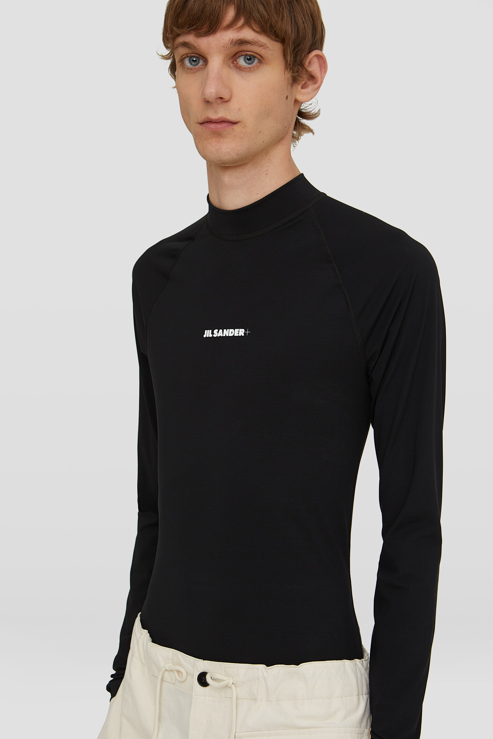 Rash Guard, black, large