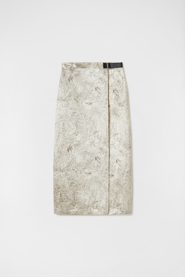 Skirt, beige, large