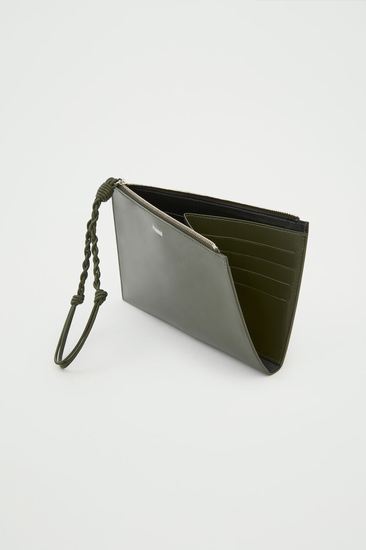 Fold Pocket  Wallet, green, large