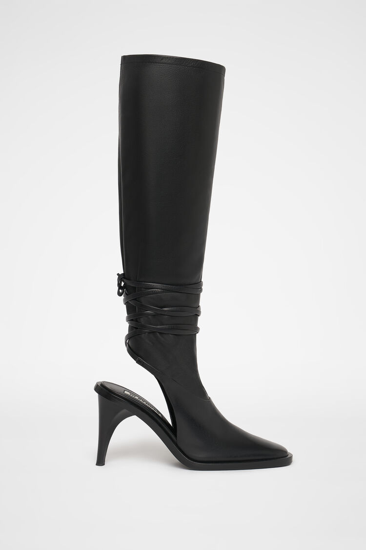 Boot, black, large