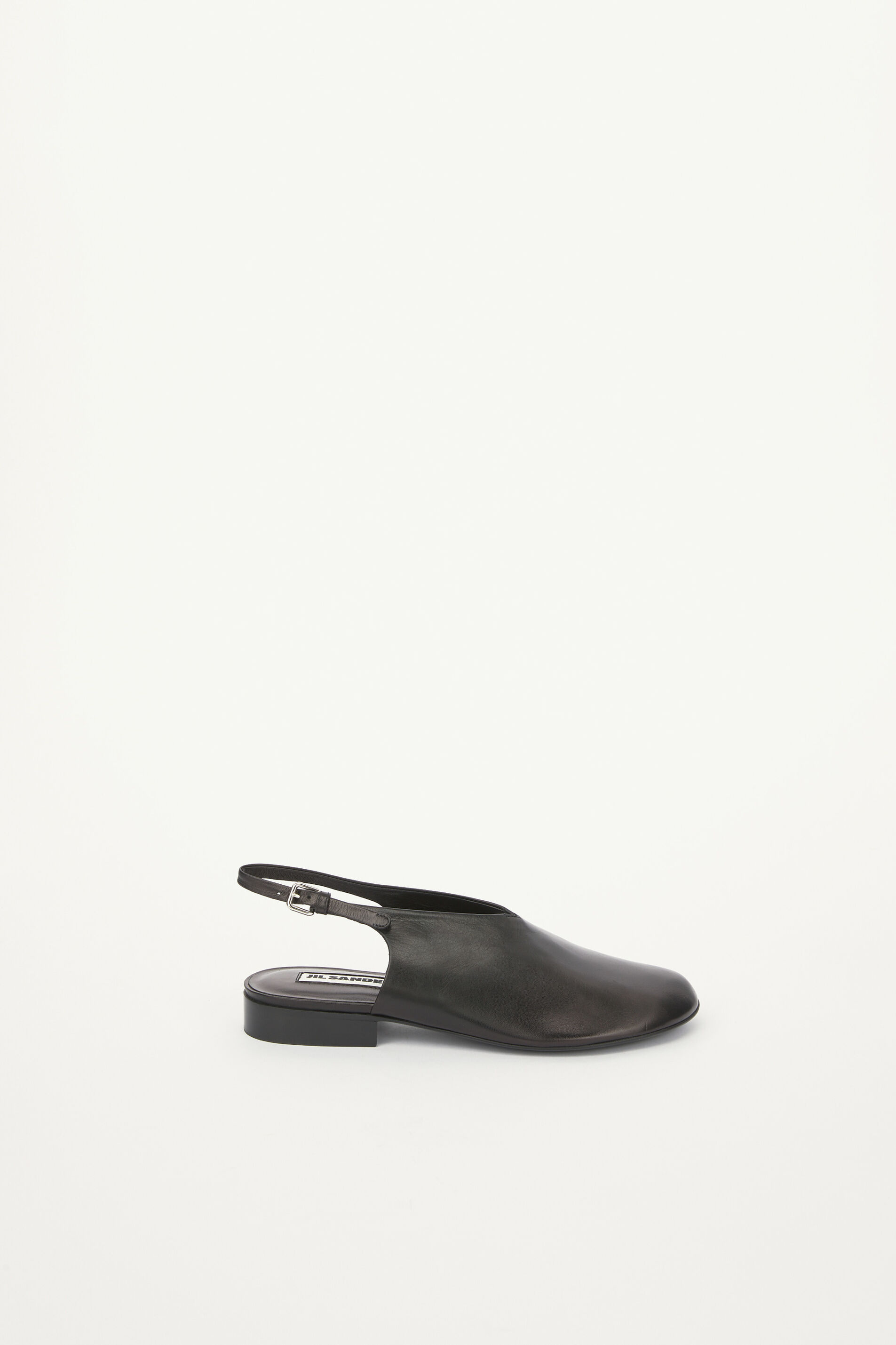 Flat Shoes, black, large