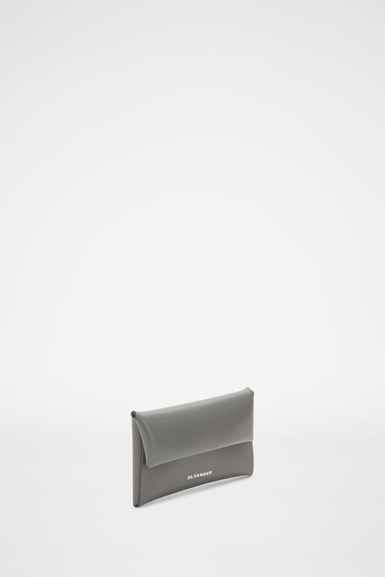 Coin Purse, grey, large