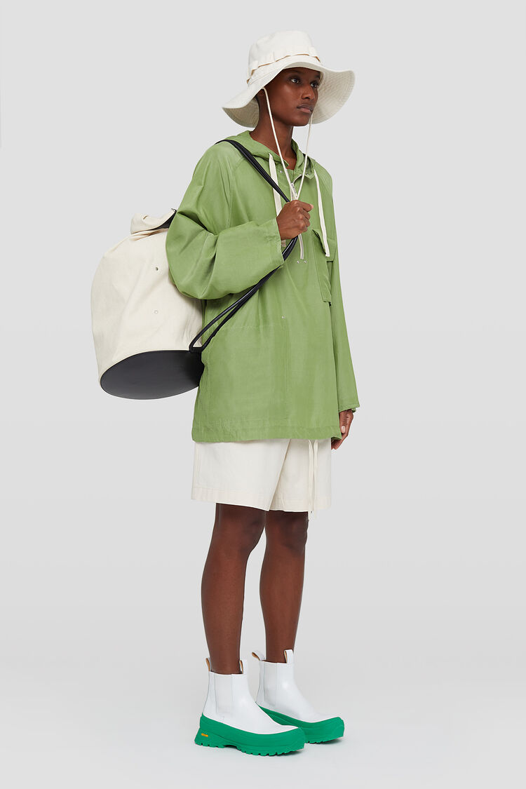 Hooded Anorak, green, large