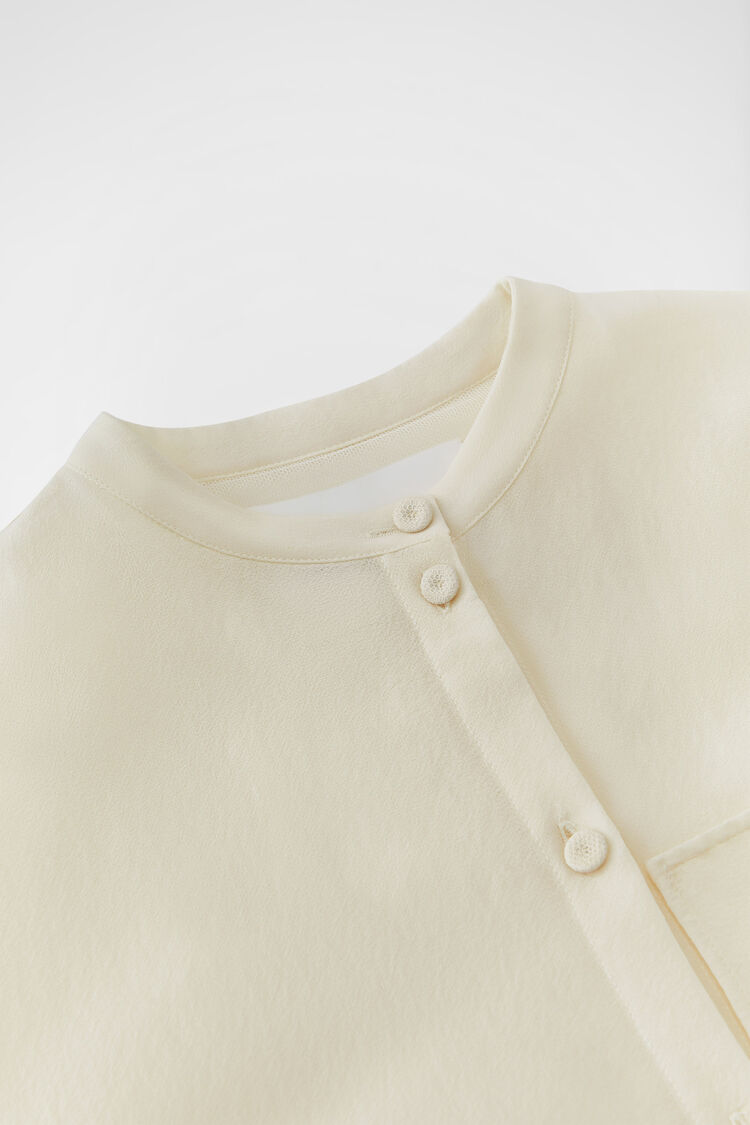 Shirt, natural, large