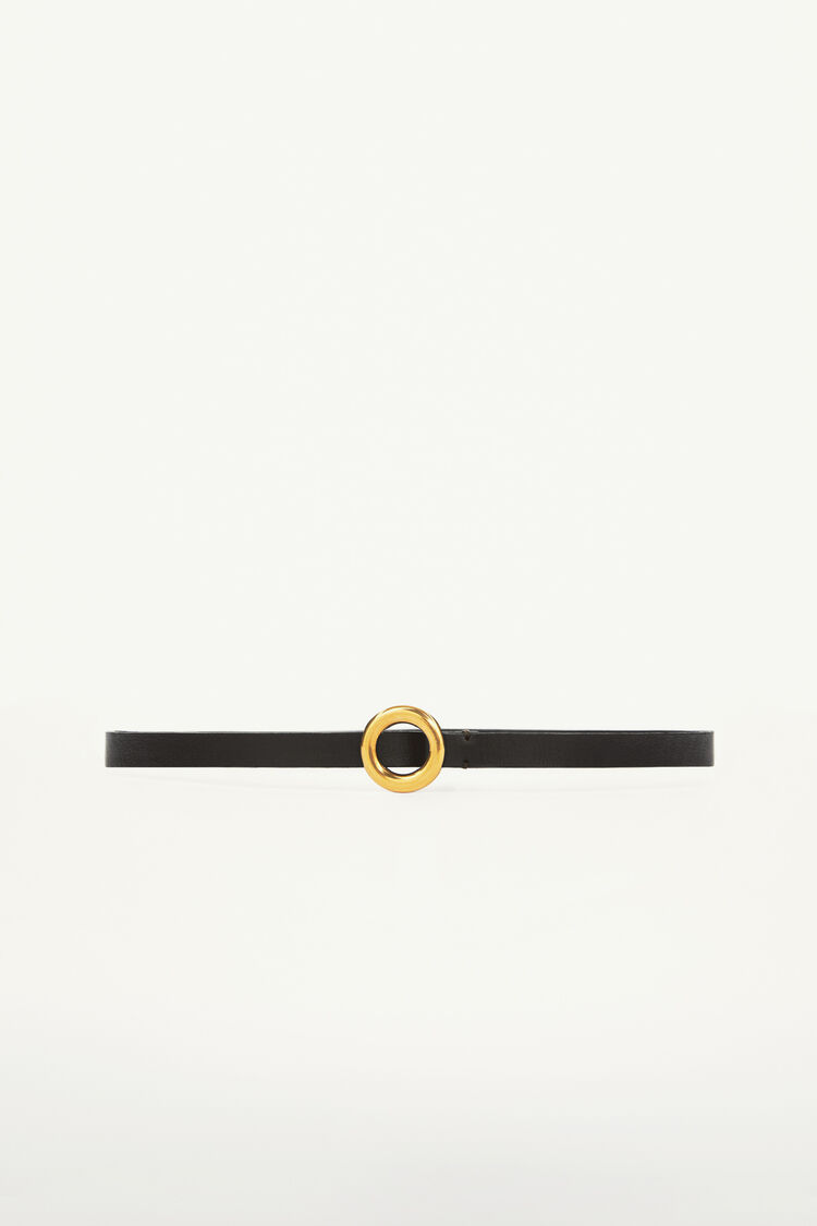 Belt, black, large