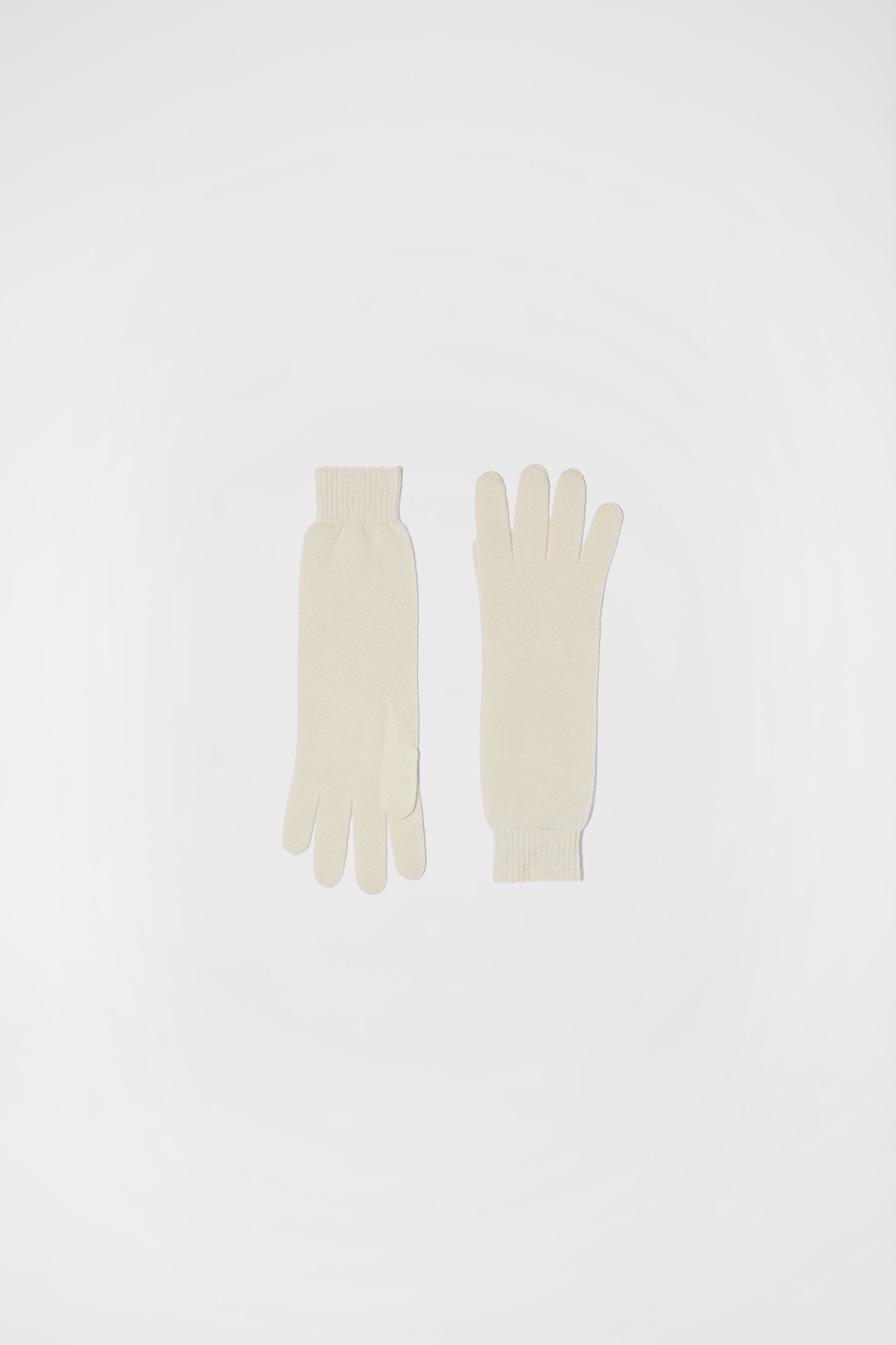 Gloves, natural, large