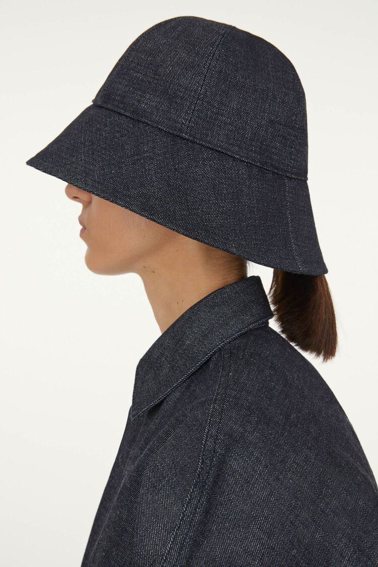 Denim Hat, dark blue, large