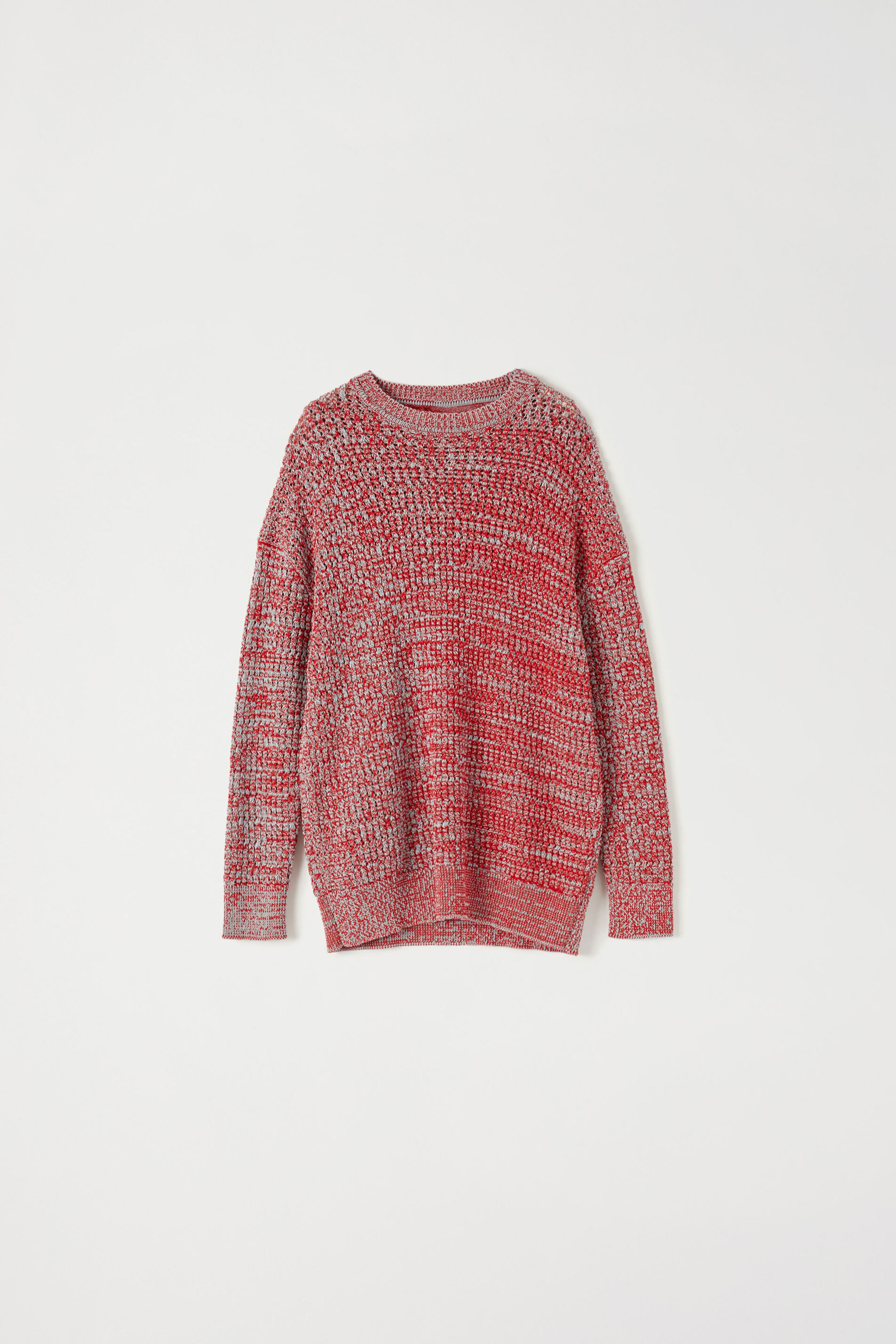 Maglia Oversize, rosso, large