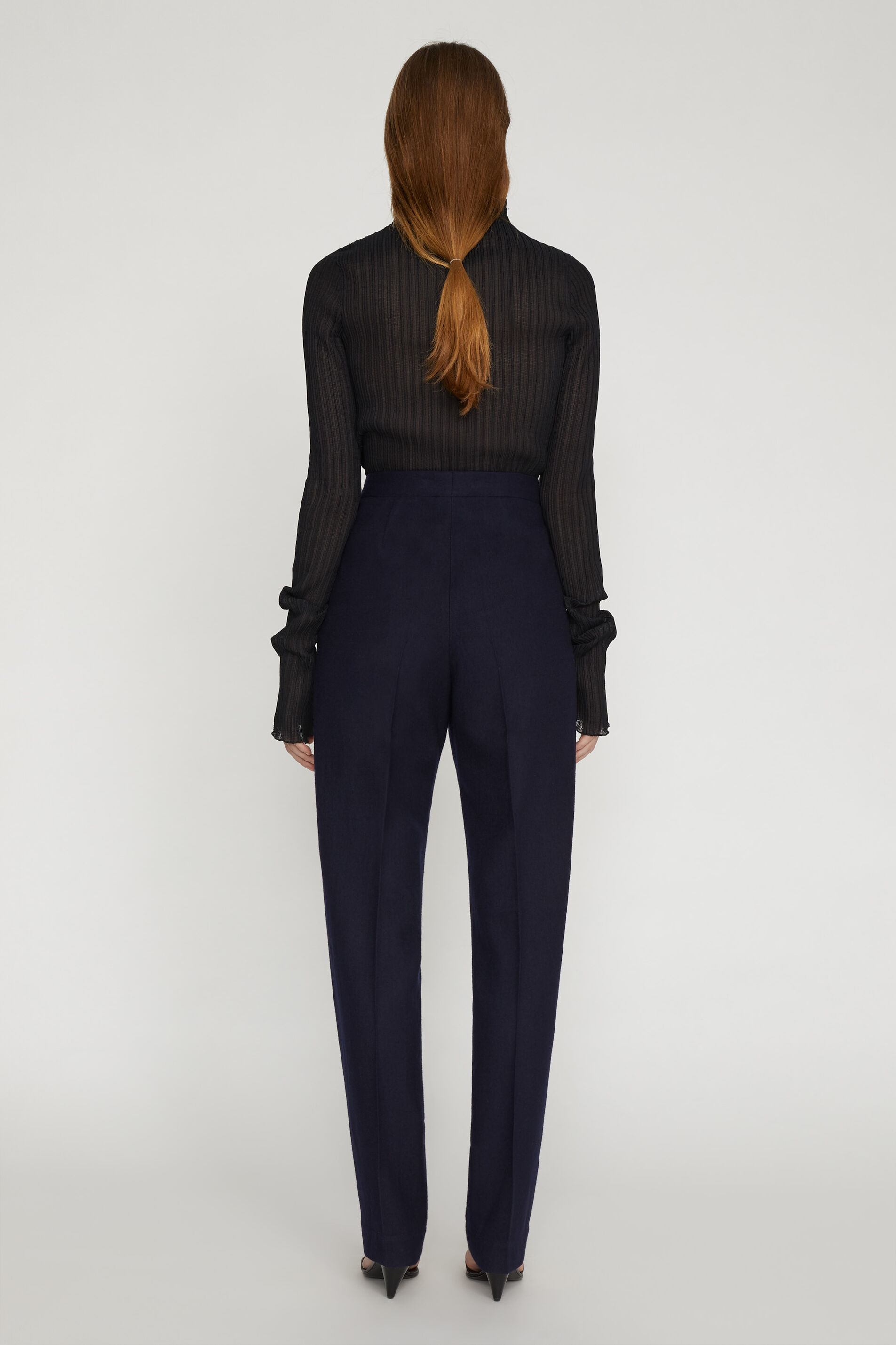 Tailored Trousers, dark blue, large