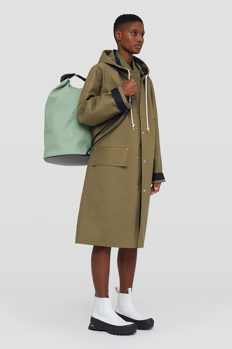 Mackintosh Coat, green, large