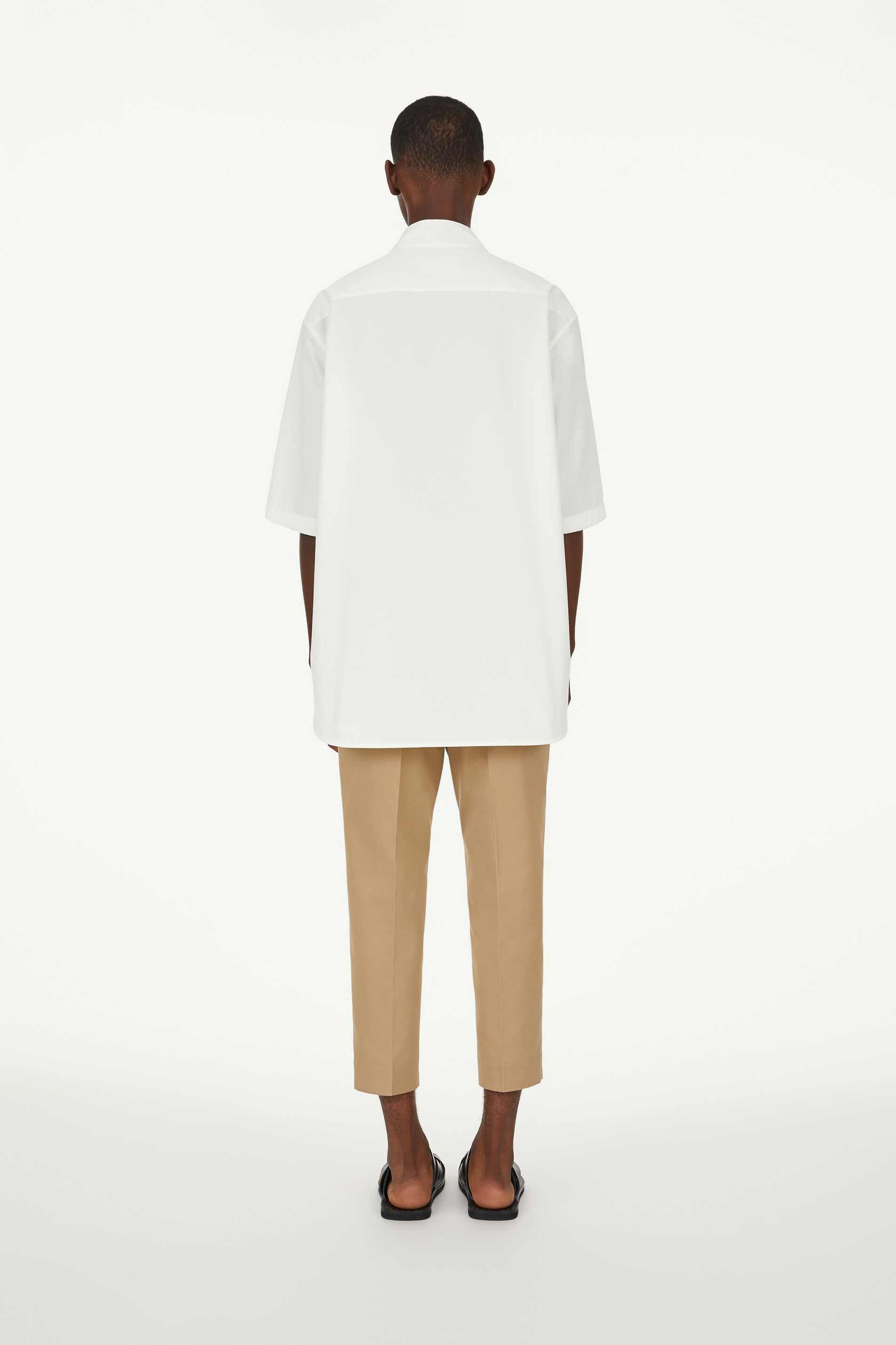 Trousers, pastel brown, large