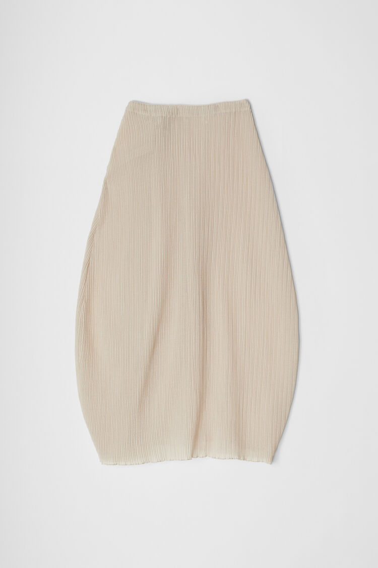 Jersey Skirt, beige, large