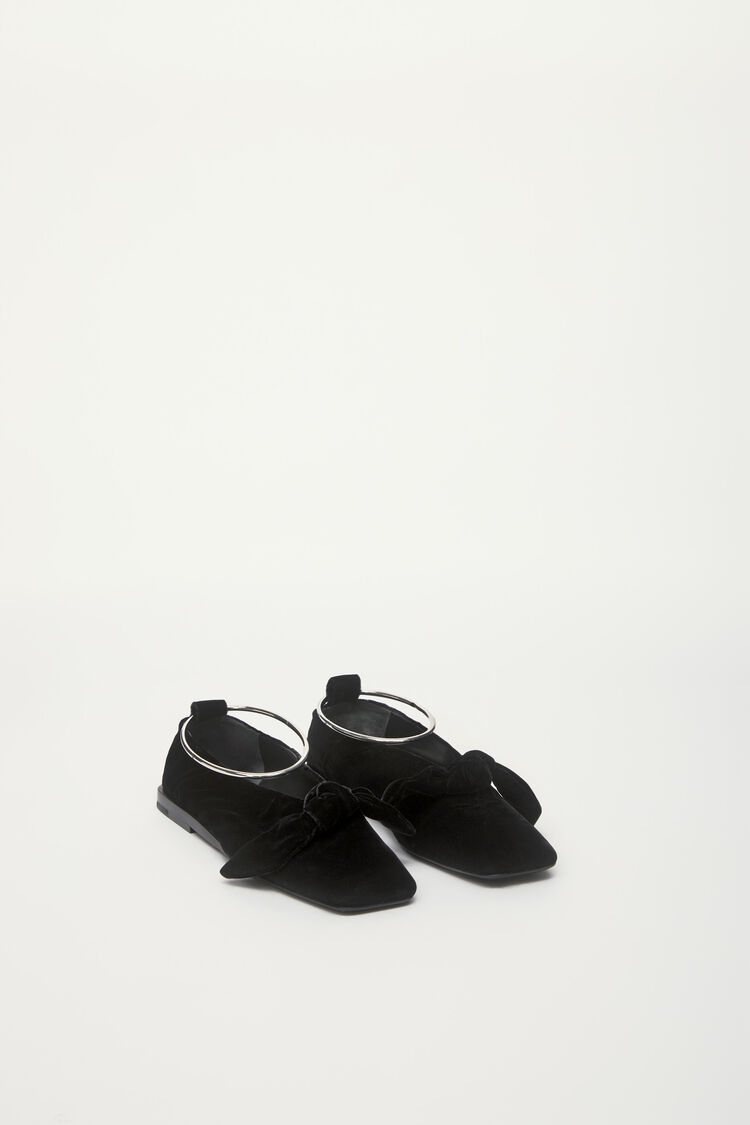 Ballerinas, black, large