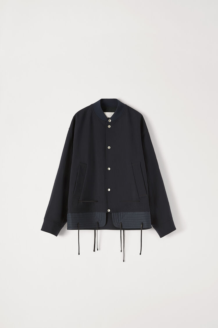 Bomber, dark blue, large