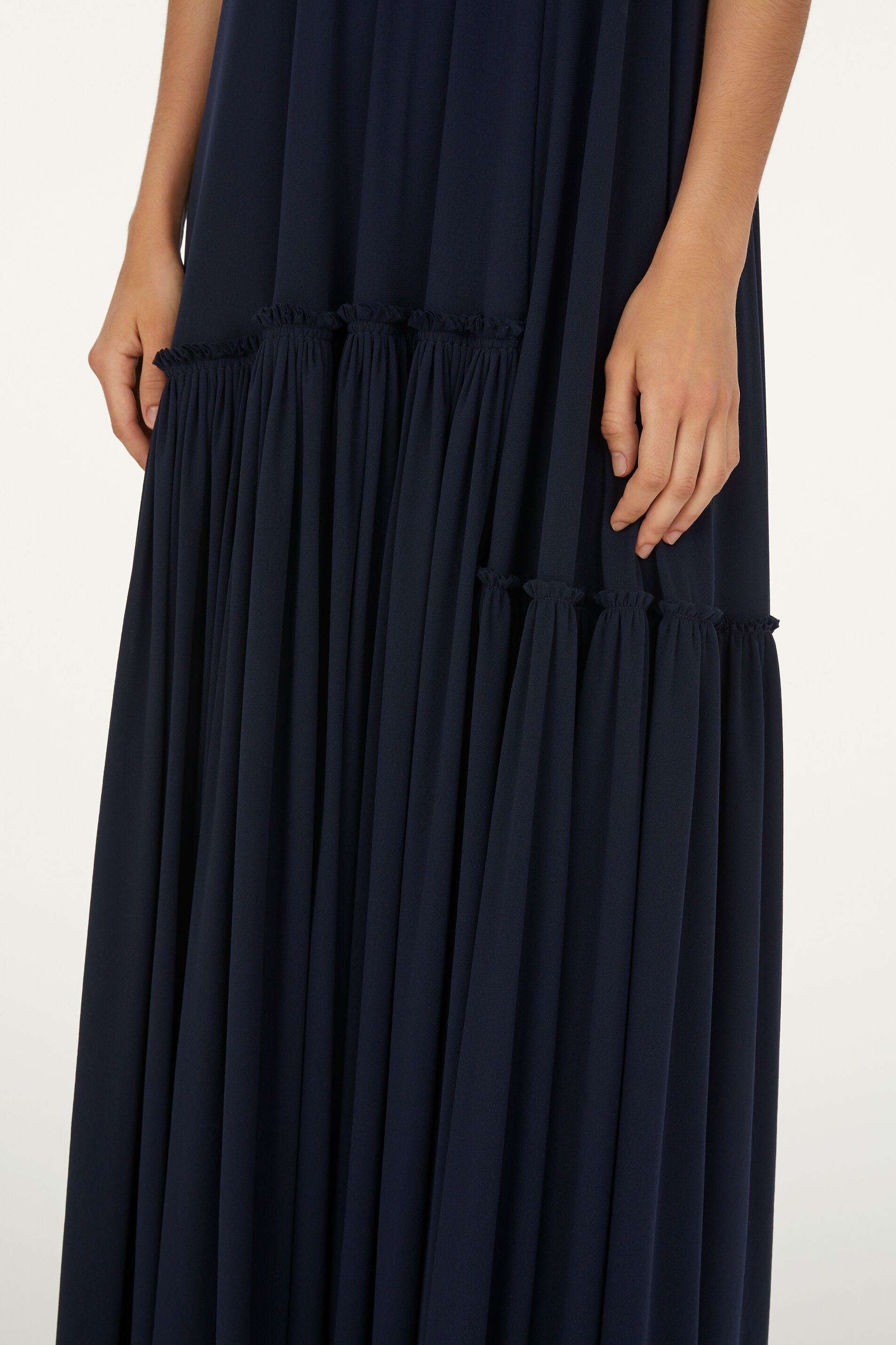 Jersey Dress, dark blue, large