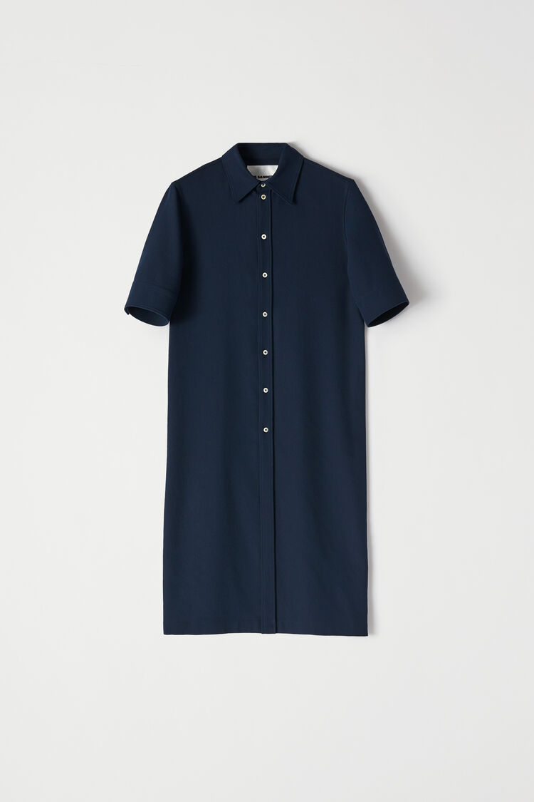 Shirt, dark blue, large