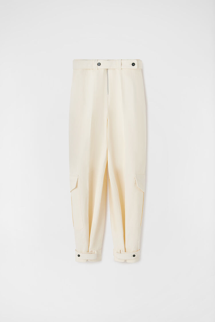 Trousers, natural, large