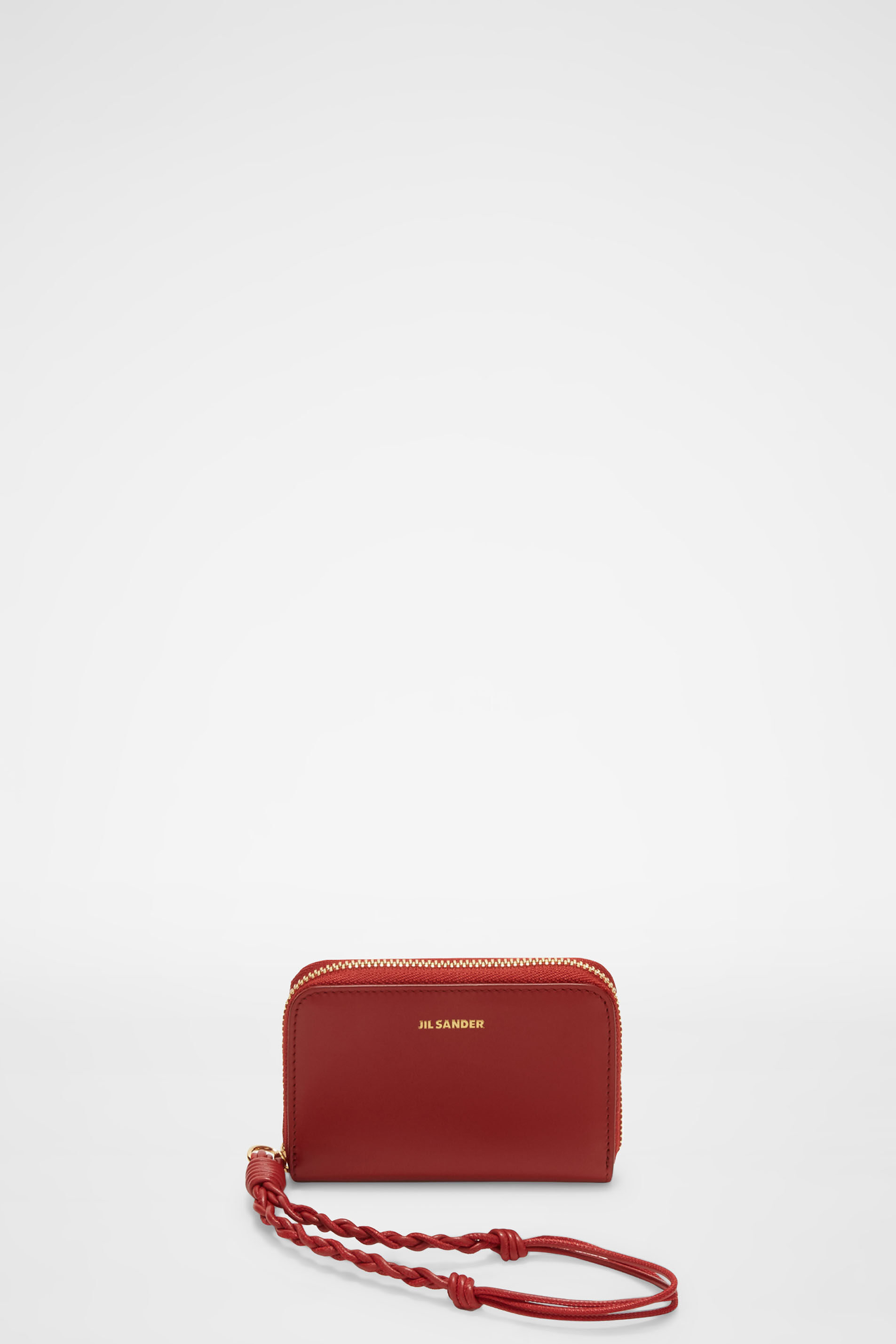 Zip-Around Wallet Small, red, large