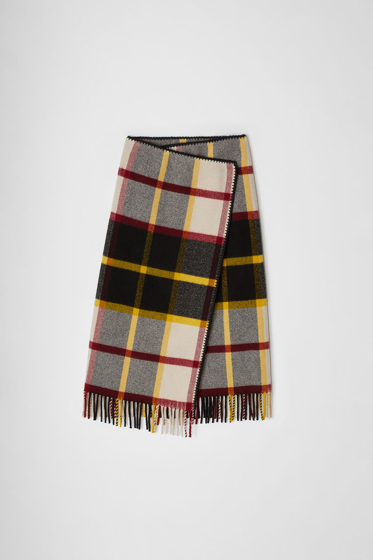 Skirt, multicolour, large
