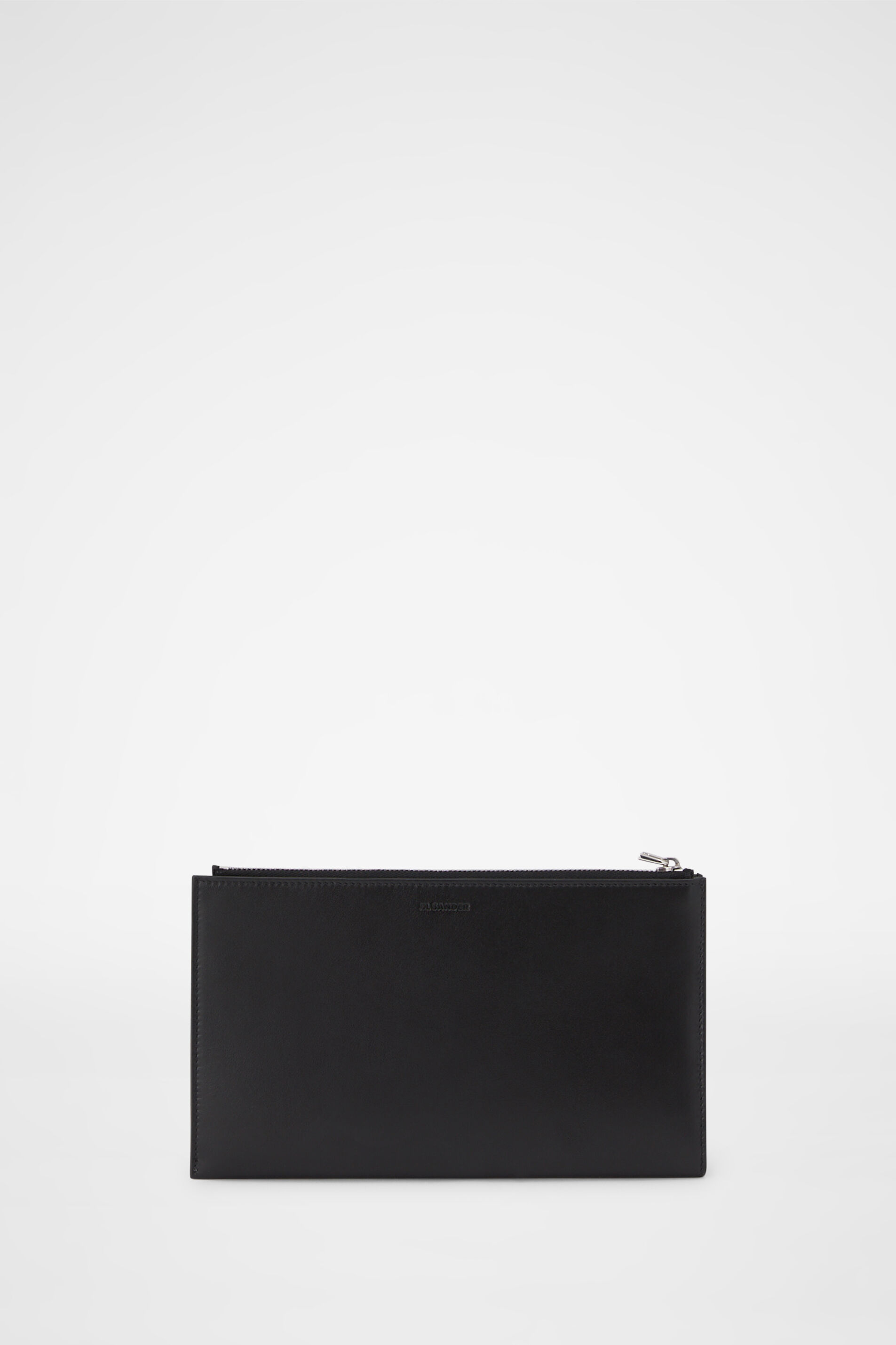 Zip Document Holder, black, large