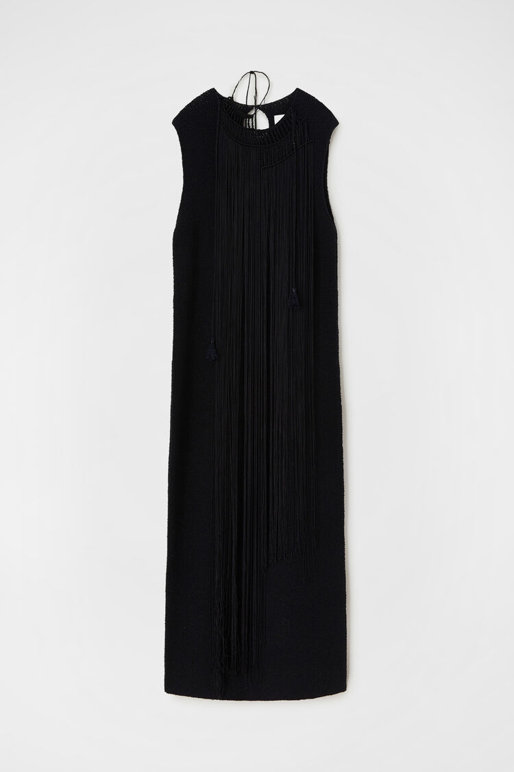 Dress, black, large