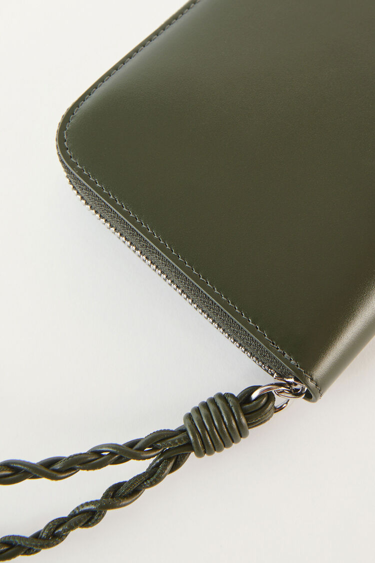 Zip Around Wallet, green, large