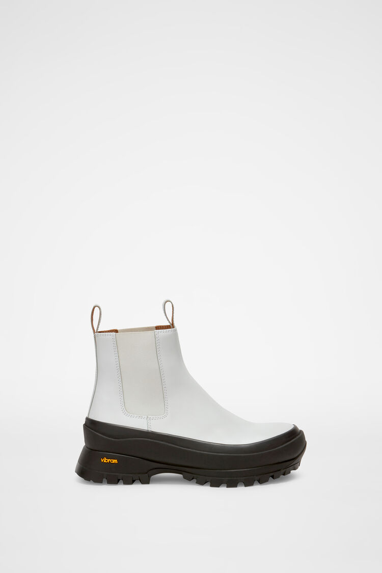 Chelsea Boots, white, large