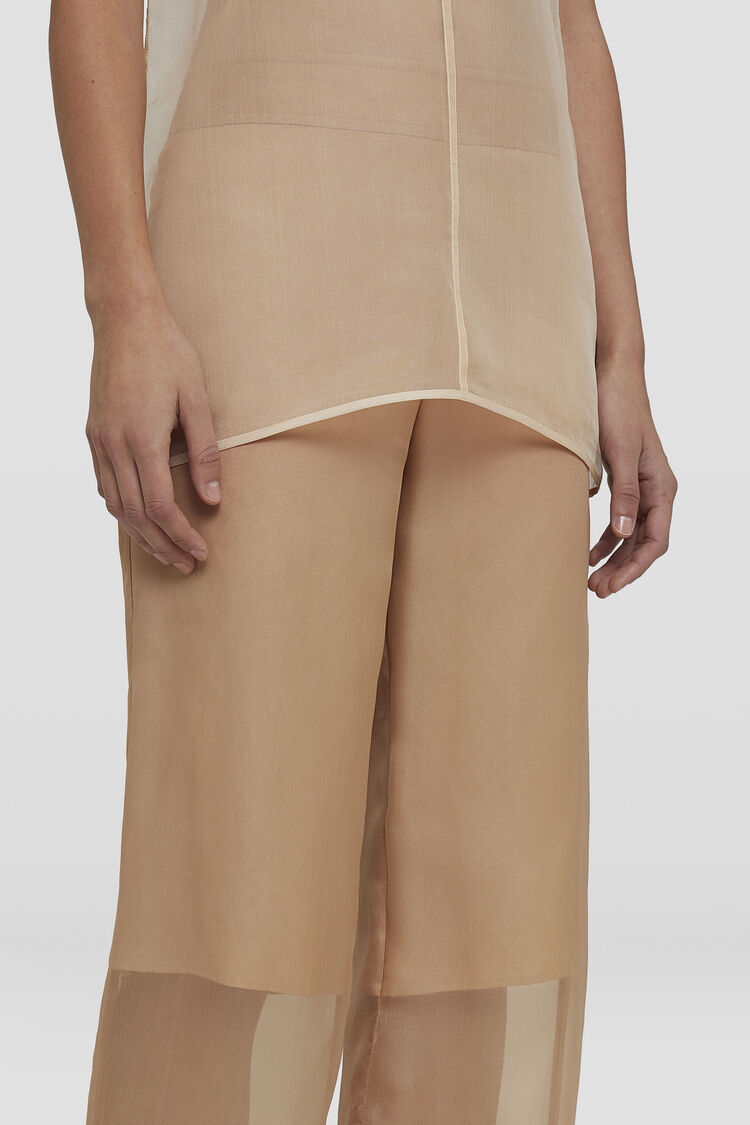 Trousers, pink, large