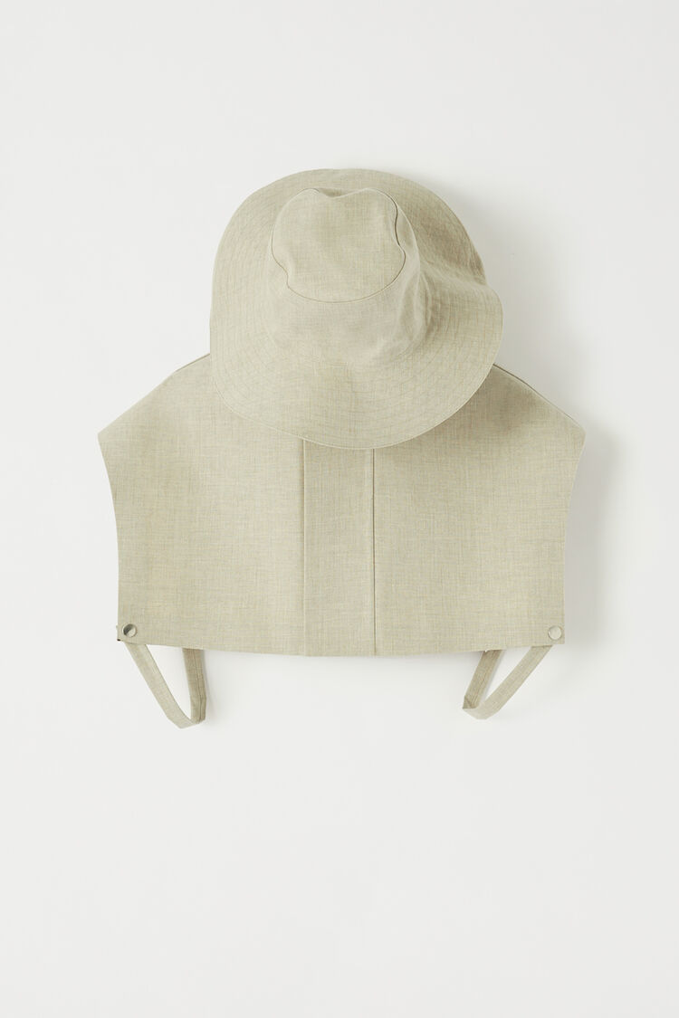 Mackintosh Hat, pastel grey, large