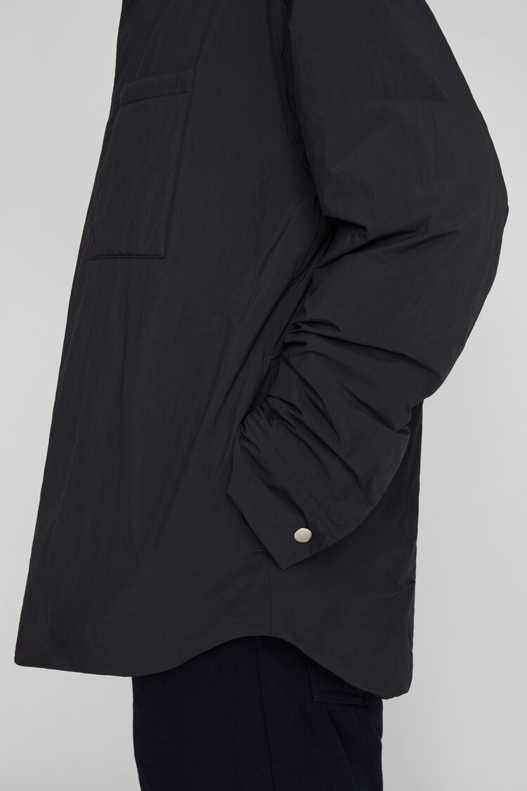 Down Shirt Jacket, dark blue, large
