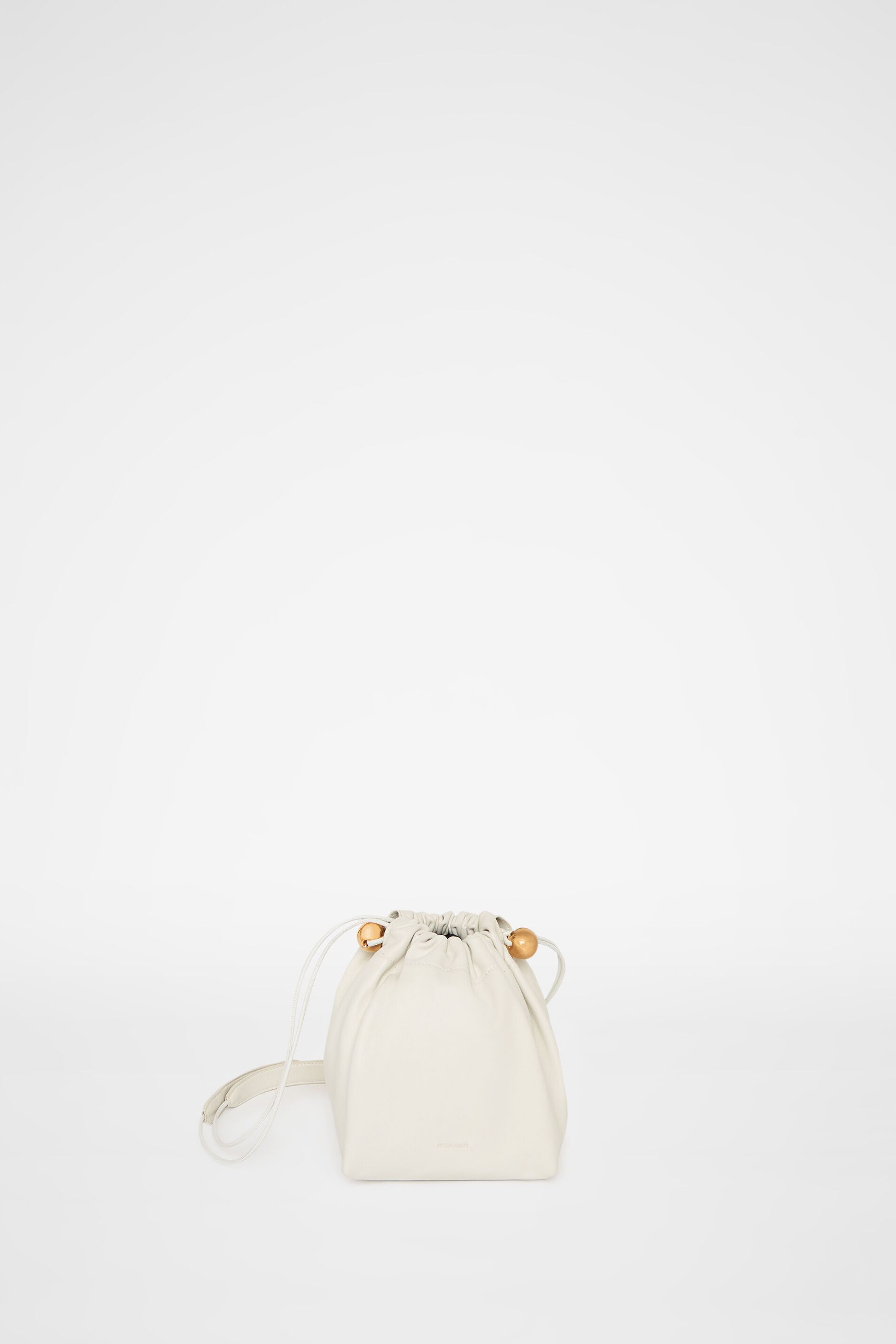 Drawstring Crossbody Small, natural, large
