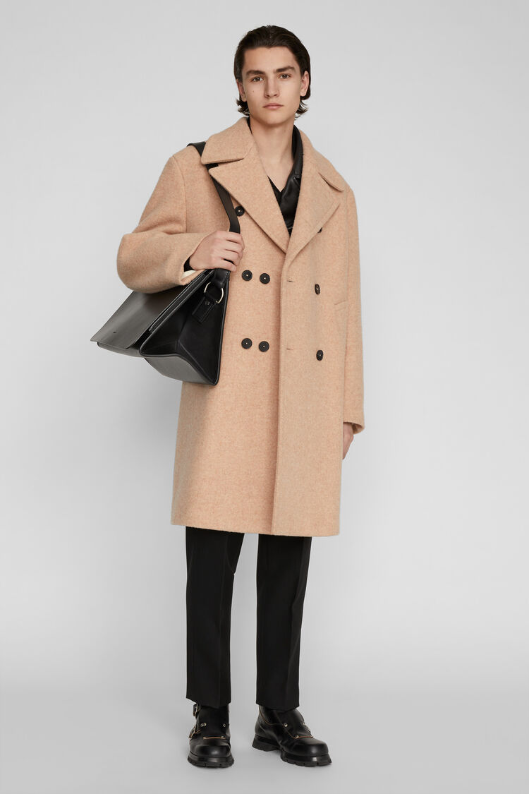Coat, beige, large