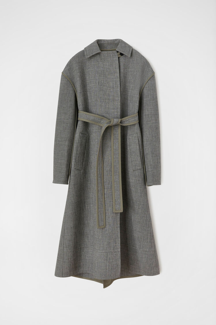 Trench, grey, large
