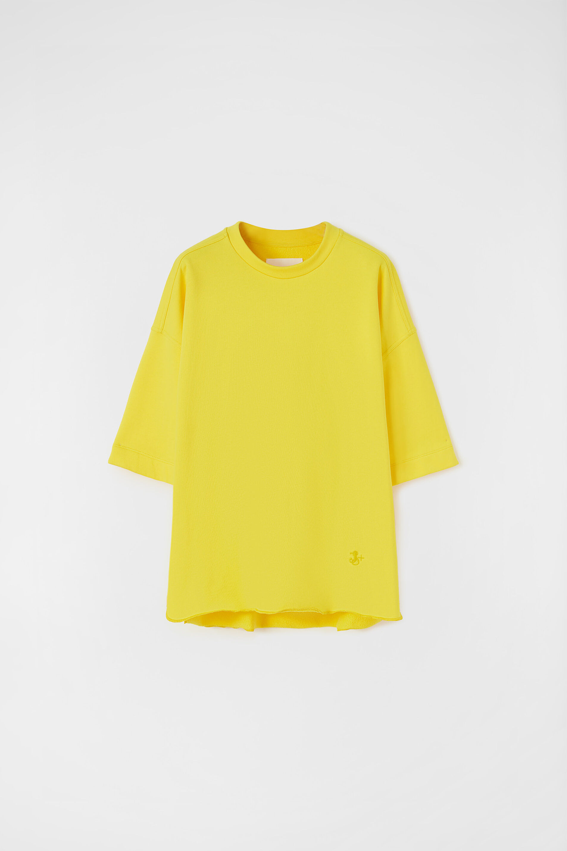 Sweatshirt, yellow, large